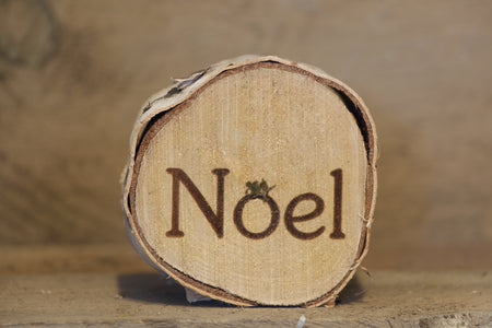 Noel Printed Birch Disc