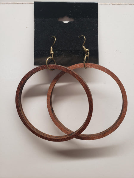 "2.25"" Hoop Earrings"