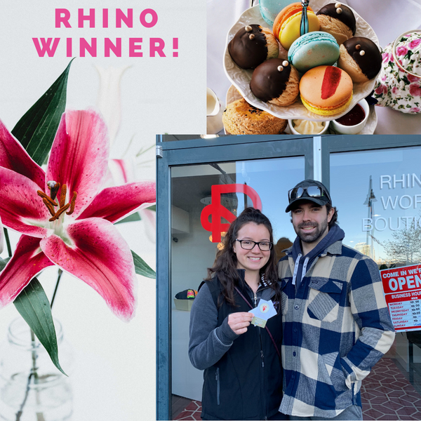Rhino Work Boutique February Giveaway Winner Scrubs Victoria Surrey Store