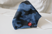 Rhino Reusable Cloth Fashion Face Mask - Blue Camo