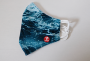 Rhino Reusable Cloth Fashion Face Mask - Ocean