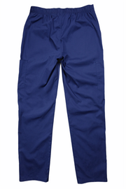 The New Relaxed Fit Multi Pocket Scrub Bottom - Navy - Rhino Scrubletix Style 29
