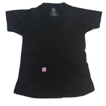 Flex Extreme Top Black - Rhino Scrubs
