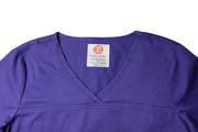 The Tailored V-Neck Scrub Top - Purple - Rhino Scrubletix Style 1