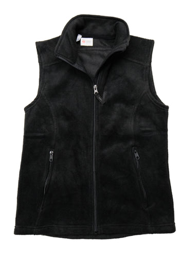 Rhino Scrubletix Cozy Fleece Vest - Black