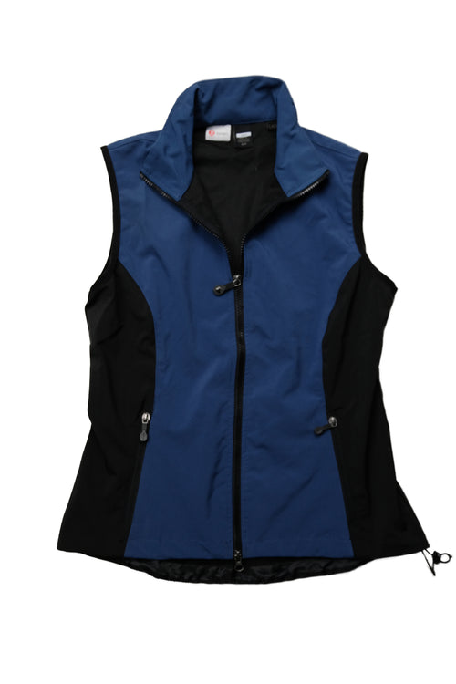 Rhino Scrubletix Two-Tone Contrast Outdoor Vest - Navy/Black