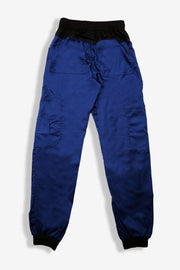 Rhino scrubs navy joggers pants product view from back