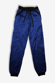 Rhino scrubs navy joggers pants product view from front