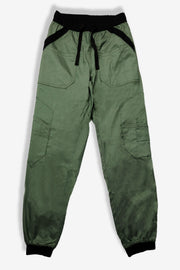 Rhino scrubs olive joggers pants product view from front
