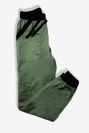 Rhino scrubs olive joggers pants product view