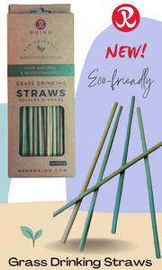 Eco-Friendly Grass Drinking Straws (50 straws per box)