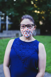 Rhino Reusable Cloth Fashion Face Mask - Rhino Logo