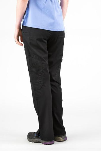 Flex Scrub Bottom Black - Rhino Scrubs