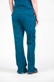Flex Bottom Dark Teal - Rhino Scrubs