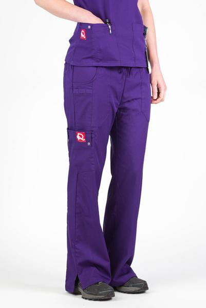 Flex Scrub Bottom Eggplant - Rhino Scrubs