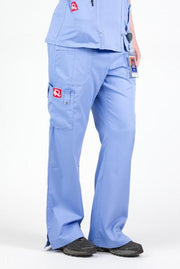 Flex Scrub Bottom Periwinkle - Rhino Scrubs