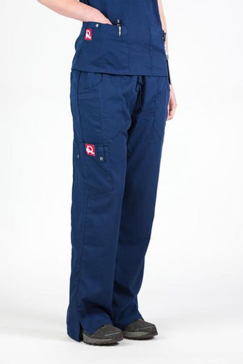 Flex Scrub Bottom Navy - Rhino Scrubs