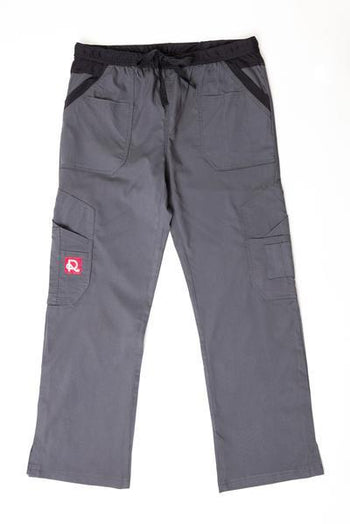 Flex Extreme Bottom Grey Black - Rhino Scrubs