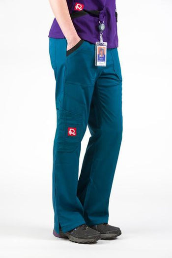 Flex Extreme Bottom Caribbean/Deep Teal - Rhino Scrubs