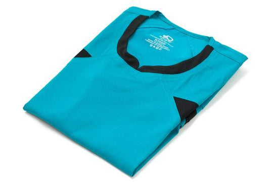 Flex Extreme Scrub Top Teal - Rhino Scrubs