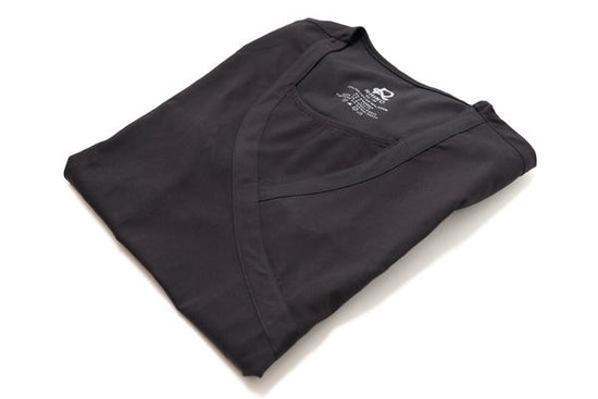 Flex Top Black - Rhino Scrubs