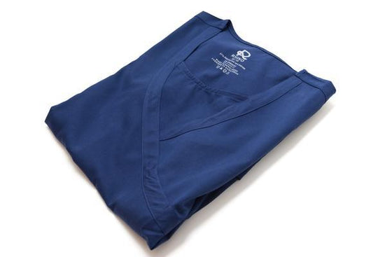 Flex Top Navy - Rhino Scrubs