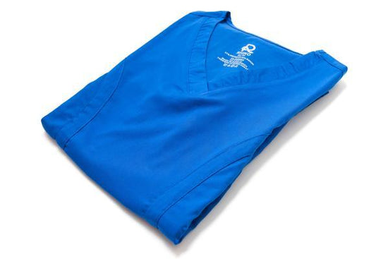 Flex Scrub Top Royal Blue - Rhino Scrubs