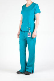 Flex Top Teal - Rhino Scrubs