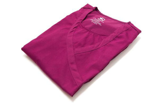 Flex Top Wine - Rhino Scrubs