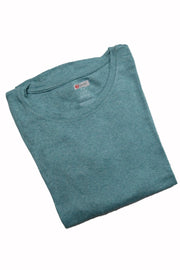 The Luxe Ultra Soft Long-sleeve Under Scrub Top - Sea Foam - Rhino Scrubs