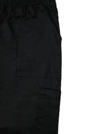 The Relaxed Fit Multi Pocket Scrub Bottom - Black - Rhino Scrubletix Style 10