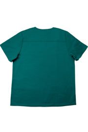 The Men's Polished V-Neck Scrub Top - Forest Green - Rhino Scrubletix Style 5
