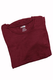 The Luxe Ultra Soft Long-sleeve Under Scrub Top - Wine - Rhino Scrubs