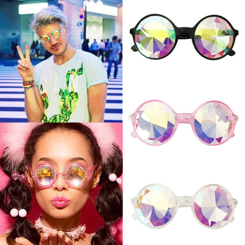 kaleidoscope glasses for raves and edm festivals