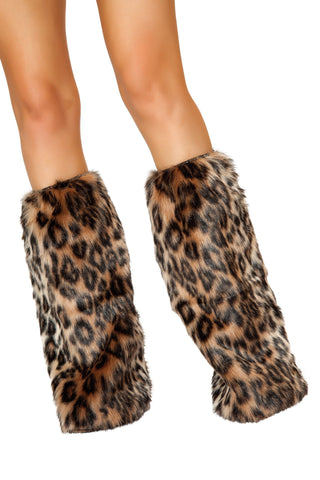 J-Valentine Leopard Rave Fluffies