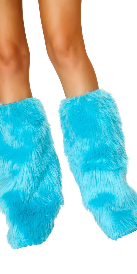 J-Valentine Turquoise Rave Fluffies