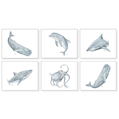 Sea Animals and Ocean Life Paintings