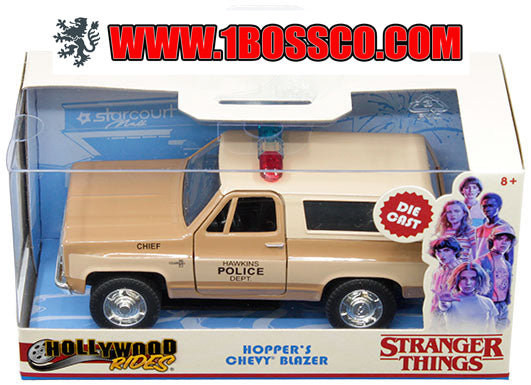 JADA TOYS - 1/32 HOPPER'S CHEVY BLAZER STRANGER THINGS