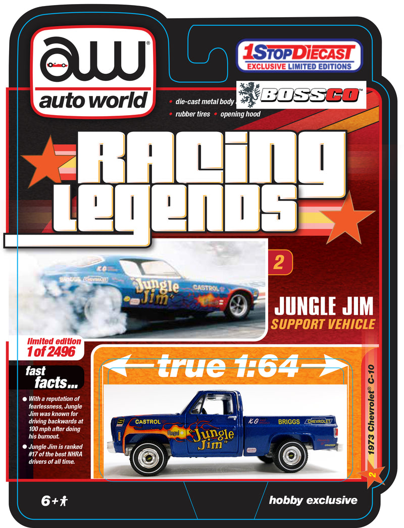 "AUTOWORLD - '73 CHEVY C10 ""JUNGLE JIM"" ***PRE ORDER***"