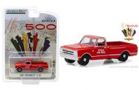 GREENLIGHT - 1967 CHEVROLET C10 INDY 500 FIRE TRUCK (RED)