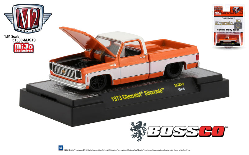 "M2 '73 CHEVY SILVERADO ""ORANGE"""