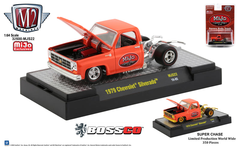 "M2 '79 CHEVY SILVERADO (NO BED)  ""MIJO SPEED SHOP"" *** PRE ORDER ***"