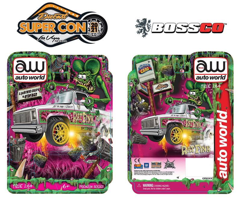 "AUTOWORLD - ""2021 SUPER CON"" '73 CHEVY ""RAT FINK"
