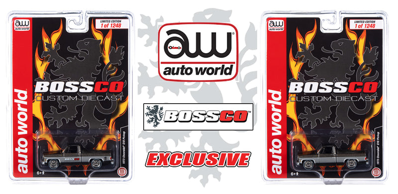 "AUTOWORLD - '73 CHEVY CHEYENNE ""BOSSCO"" (2PC. SET)"
