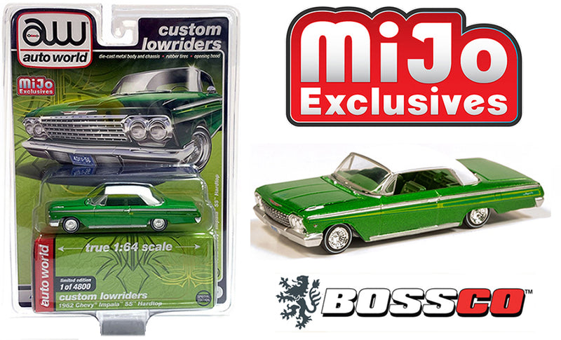 AUTOWORLD - 1962 CHEVY IMPALA LOWRIDER (GREEN)