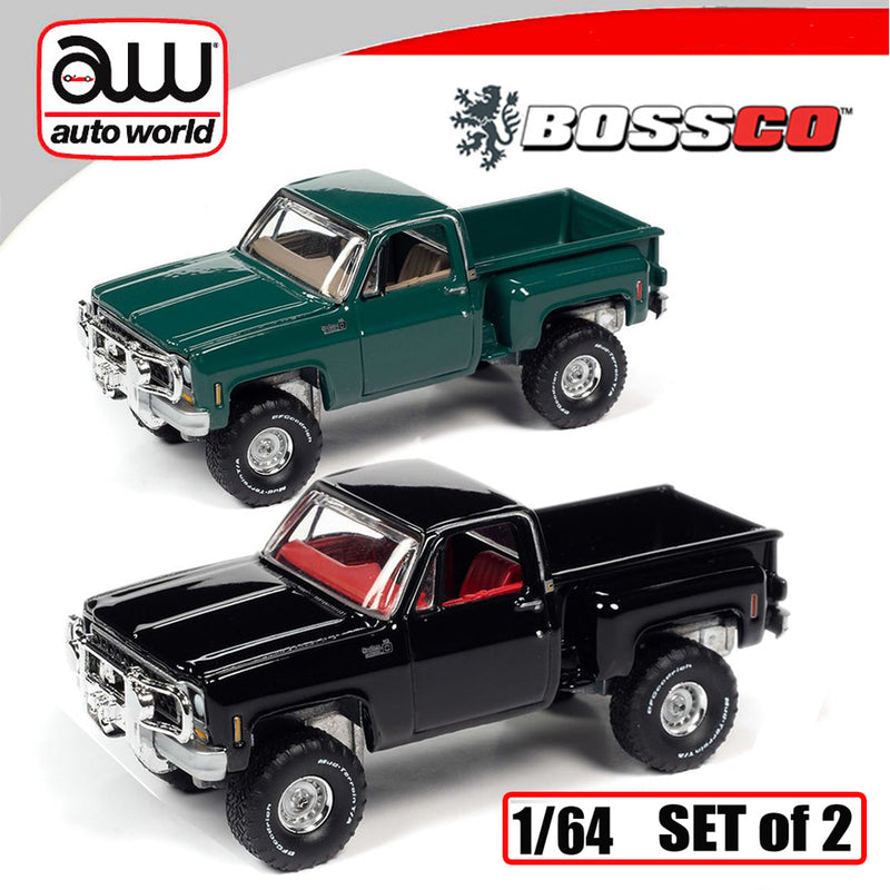 AUTOWORLD - '80 CHEVY  (SET of 2) ***PRE ORDER***