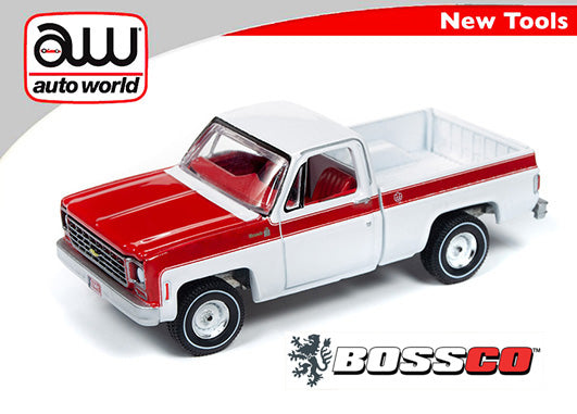 "AUTOWORLD - 1976 CHEVY SCOTTSDALE ""OLYMPIC EDITION"" ***PRE ORDER***"