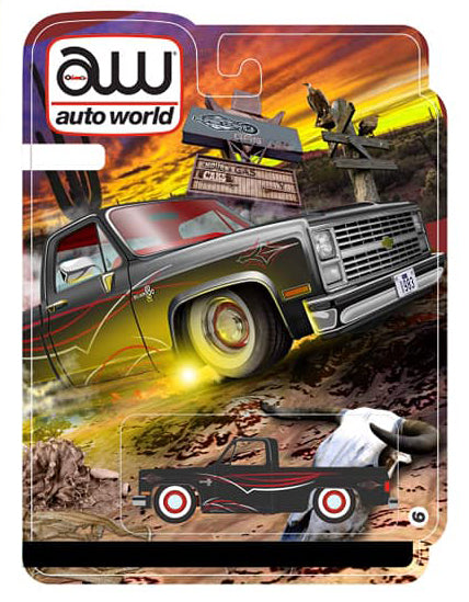 "AUTOWORLD - ""ANNIV. VEGAS EDITION"" '83 CHEVY ""RAT ROD ***PRE ORDER***"