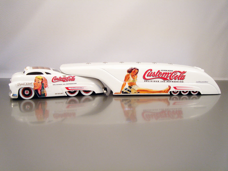 "SIGNATURE SERIES - SLEDSTER TANKER CUSTOM COLA ""WHITE""  1 of 96"