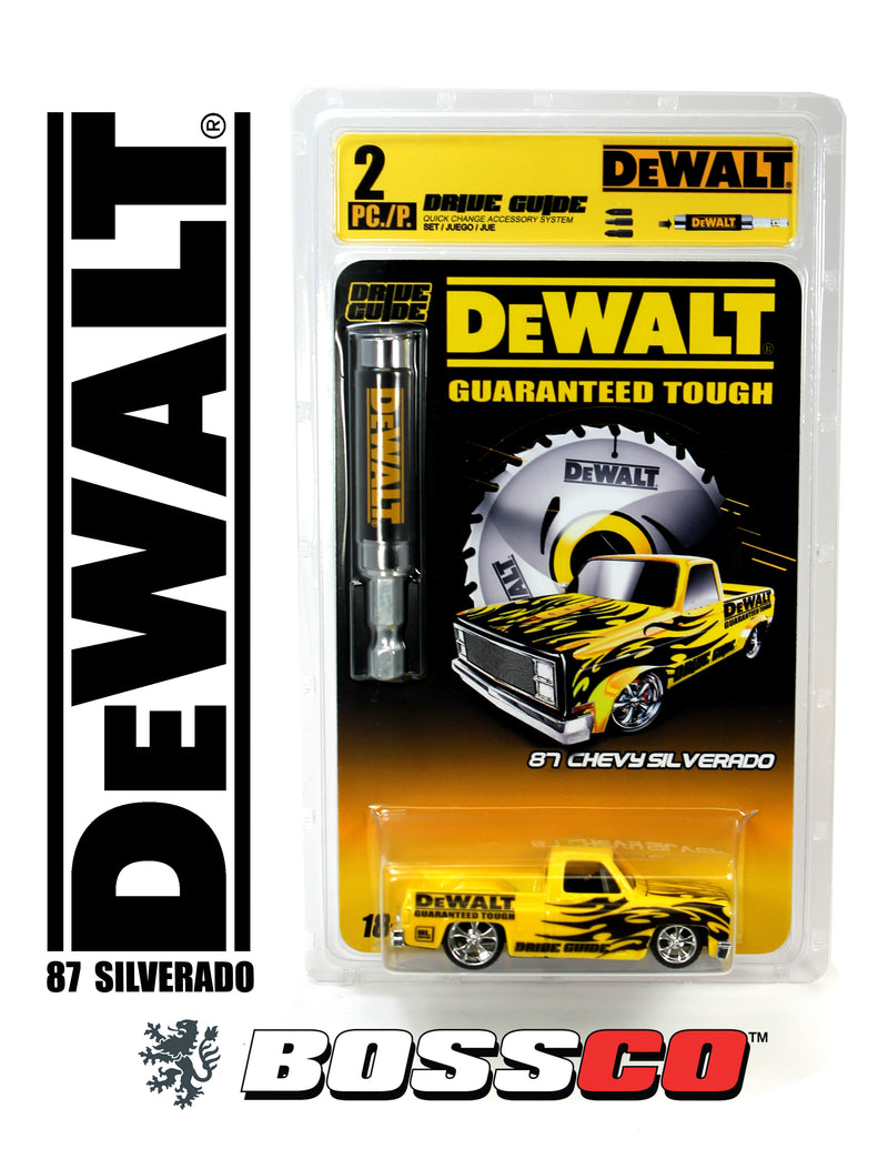 MAISTO - BOSSCO CUSTOM DEWALT 1987 CHEVY SILVERADO Only 24 pcs. Produced